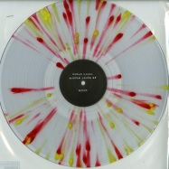 Front View : Chris Hanna - MUSCLE HOUSE EP (140 GRAM RED & YELLOW SPLATTER WITH TRANSPARENT CLEAR VINYL - MIL / M 3003