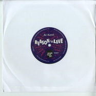 Front View : Al Kent - REASON TO LIVE (10 INCH) - People Must Jam / PMJ007