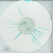 Front View : DJ Jes - RHYTHM METHOD EP (VINYL ONLY / WHITE SPLATTER) - Turquoise Blue / TQR021