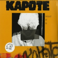 Front View : Kapote - WHAT IT IS (2LP, POSTER) - Toy Tonics / TOYT090