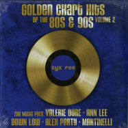 Front View : Various Artists - GOLDEN CHART HITS OF THE 80S & 90S VOL. 2 (LP) - Zyx Music / ZYX 55892-1