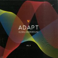 Front View : Various - GLOBAL UNDERGROUND:ADAPT #3 (MIXED CD) - Global Underground / 9029688784