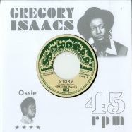 Front View : Gregory Isaacs / Ossi All-Stars - STORM / LEGGO DUB (7 INCH) - 17 North Parade / VP9640