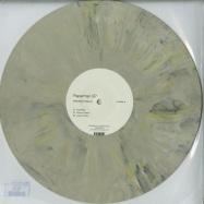 Front View : Defaultman & Sapurra - PAPERMAN EP (COLORED GREEN & YELLOW)(VINYL ONLY) - Poker Flat / PFRWAX010