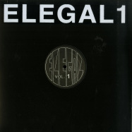 Front View : Various Artists - ELEGAL - Klasse Wrecks / ELEGAL01