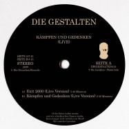 Front View : Die Gestalten - KAEMPFEN UND GEDENKEN (VINYL ONLY) - Die Gestalten / DIEGESTALTEN013