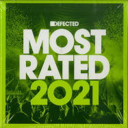 Front View : Various Artists - DEFECTED PRESENTS MOST RATED 2021 (3CD, UNMIXED) - Defected / RATED32CD
