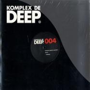 Front View : Francois Dubois & Master H - RISE EP - Komplex De Deep / kdd004