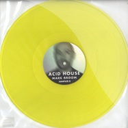 Front View : Mark Broom - ACID HOUSE - ALBUM SAMPLER B (CLEAR YELLOW VINYL) - Saved Records / SVALB03B