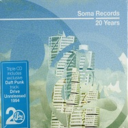 Front View : Various Artists - SOMA RECORDS - 20 YEARS (3CD) - Soma / somacd095