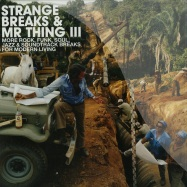 Front View : Various Artists - STRANGE BREAKS & MR THING III (2X12 LP + CD) - BBE Records / bbe218clp