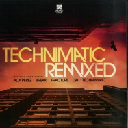 Front View : Technimatic - TECHNIMATIC REMIXED EP (RED MARBLED VINYL) - Shogun Audio / SHA124