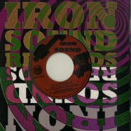 Front View : Peter Roots Lewis & Hi-Tech Roots Dynamics - ITS A ROADBLOCK (7 INCH) - Iron Sound / IRON010-07
