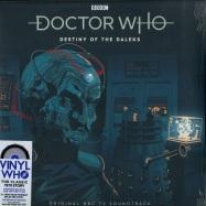 Front View : Doctor Who - DESTINY OF THE DALEKS (COLOURED 180G 2LP, RSD 2019) - Demon Records / DEMWHOLP002