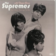 Front View : The Supremes with Diana Ross - YOUR HEART BELONGS TO ME (180G LP) - Wagram / 05148451