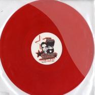 Front View : Detroit Grand Pubahs & Dave The Hustler - GO AHEAD (RED VINYL) / VITALIC REMIX - Citizen / CTZ015