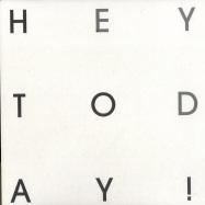 Front View : Hey Today! - TALK TO ME (LTD YELLOW VINYL) - Turbo078