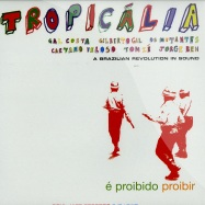 Front View : Various Artists - TROPICALIA - A BRAZILIAN REVOLUTION IN SOUND (2X12 LP) - Soul Jazz Records / sjrlp118