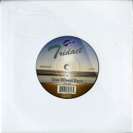 Front View : Tridact - ONE WHEEL RACE / SKY BLUE DART (7 INCH) - Internasjonal / INTTRIDACT7