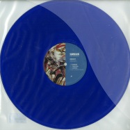 Front View : Reboot - SAMSON (HARRY ROMERO REMIX) (BLUE VINYL) - Circus / Circus033T