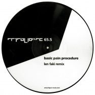 Front View : Basic Pain Procedure - BASIC PAIN PROCEDURE (LEN FAKI REMIX / LTD PICTURE DISC) - Figure / Figure65.5