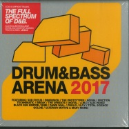 Front View : Various Artists - DRUM & BASS ARENA 2017 (3XCD+MP3) - AEI MUSIC / DNBA021CD / DNBA21CD