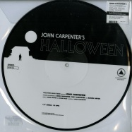 Front View : John Carpenter - HALLOWEEN / ESCAPE FROM NEW YORK (PICTURE DISC) - Sacred Bones / SBRPIC 156 / 00097350