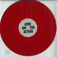 Front View : Sugar Daddy - LOVE ON THE ATTACK (RED COLOURED VINYL) - Situationism  / SITU024