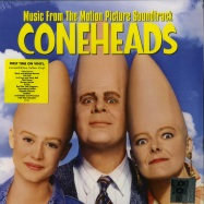 Front View : Various Artists - CONEHEADS O.S.T. (LTD YELLOW LP) - Warner / 9362490393