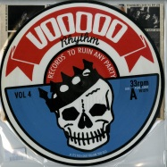 Front View : Various Artists - VOODOO RHYTHM COMPILATION VOL.4 (PICTURE LP) - Voodoo Rhythm Records / 00068885
