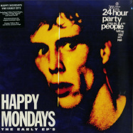 Front View : Happy Mondays - THE EARLY EPS (COLOURED 4X12 INCH BOX) - London Music Stream / LMS5521302