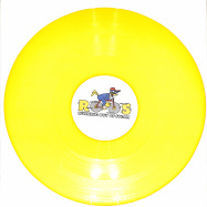 Front View : DJ Bigpspin - WOODY WOODPECKHAM EP (YELLOW VINYL) - Running Out of Steam / ROOS003