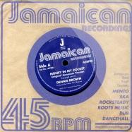 Front View : Dennis Brown - MONEY IN MY POCKET (7 INCH) - Jamaican / jr7001
