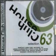 Front View : Various Artists - HOUSE CLUB SELECTION 63 (CD) - Saifam / atl969-2