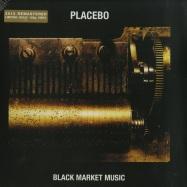 Front View : Placebo - BLACK MARKET MUSIC (LTD GOLDEN 180G LP) - Elevator Lady Limited / 4743247
