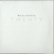 Front View : Various Artists - TWENTY (3XCD) - Global Underground / 190296986970