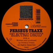 Front View : Perseus Traxx - ELECTRIC DRUID - Pareidolia Recordings / PAREIDOLIA004