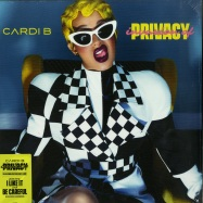 Front View : Cardi B - INVASION OF PRIVACY (2LP + MP3) - Atlantic /  8721045