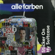 Front View : Alle Farben - STICKER ON MY SUITCASE (SPLATTERED 2LP) - B1 Recordings / 19075939631