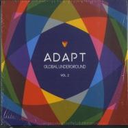 Front View : Various - GLOBAL UNDERGROUND:ADAPT #2 (CD) - Global Underground / 9029695025