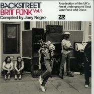 Front View : Various / Compiled by Joey Negro - BACKSTREET BRIT FUNK 1 (2LP) - Z Records / ZEDDLP018 / 05175151