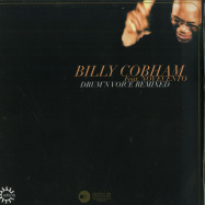 Front View : Billy Cobham Feat. Novecento - DRUMN VOICE REMIXED (2X12) - Rebirth / REB120