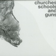 Front View : Lucy - CHURCHES SCHOOLS AND GUNS (CD) - Stroboscopic Artefacts / SACD005