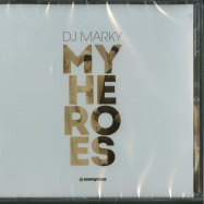 Front View : DJ Marky - MY HEROES (CD) - Innerground / INN070CD
