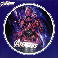 Front View : Alan Silvestri - AVENGERS: ENDGAME (PICTURE LP) - Walt Disney Records / 8741590