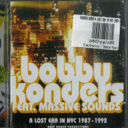 Front View : Bobby Konders feat. Massive Sounds - A LOST ERA IN NYC 87-92 (CD) - Gigolo Records / Gigolo1093