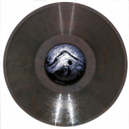 Front View : Merv - REMAIN (CLEAR RED BLUE VINYL) - Kontakt Records / KNT-14