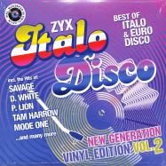Front View : Various - ZYX ITALO DISCO NEW GENERATION:VINYL EDITION VOL.2 (LP) - Zyx Music / ZYX 55917-1