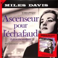 Front View : Miles Davis - ASCENSEUR POUR L ECHAFAUD O.S.T. (LP + CD) - Groove Replica / 77022 / 10269067