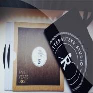 Front View : Various Artists - 5 YEARS LOST (3XLP BOX JUTE BAG) - Ritter Butzke Studio / RBSLP001